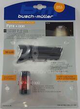 Busch & Müller Fyre LED Frontleuchte + IXXI LED Rückleuchte 195L/383 USB B&M