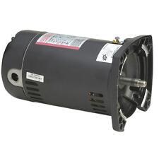 New listing A.O. Smith 1 Hp Usq1102 48Y Square Flange Pool Pump Motor, 15.3/7.6A 115/230V