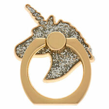 Claire's Girl's Silver Glitter Unicorn Ring Stand - Gold