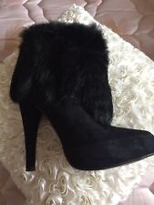🌺🌺DUNE BLACK SUEDE ANKLE BOOTS🌺🌺