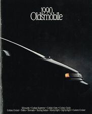 1990 OLDSMOBILE Brochure/Catalog:TROFEO,TOURING Sedan,CUTLASS,88,98,TORONADO,442