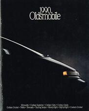 1990 OLDSMOBILE Brochure/Catalog:TROFEO,TOURING Sedan,CUTLASS,88,98,TORONADO,442