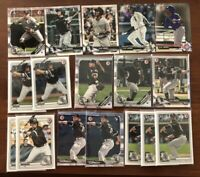 (x65) Andrew Vaughn - Nick Madrigal - Eloy Kopech Cease LOT (1st Bowman) RC Sox