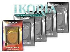 Commander 2020 Ikoria Set Of All 5 different Mtg Magic Decks Box Sealed English