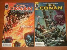 Dark Horse Comics: KING CONAN 'THE CONQUEROR' #1 - #6 Complete Set 2014