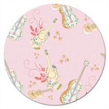 Art Gallery Anna Elise by Bari J. - ANE 87503 Pink Guitar Toss Cotton Fabric