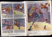 Quaderno vintage - Jolly Durbans eroe del circo n. 1 - Cartiere CISA 1954