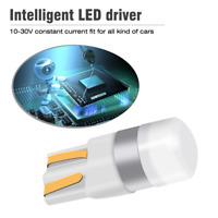 10PCS 12V Canbus T10 LED Bulb W5W 3030 SMD White Car Light Interior Reading Lamp