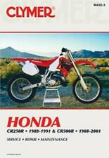 Clymer Repair Service Shop Manual Vintage Honda CR250R 88,89,90,91 CR500R 88-01