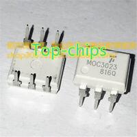 50 PCS MOC3023 DIP-6 photocoupler, triac driver output  new