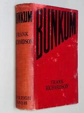 BUNKUM - Frank Richardson (1907) comic short stories linked by moustache whisker