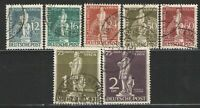 Germany Deutsche Post Berlin 1949 Sc# 9N35-9N41 Used VG/F - Scarce UPU set
