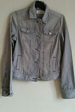 Para Mujeres Algodón del dril de algodón chaqueta Tamaño Pequeño A Rayas de Diseñador Marca BLEIFREI