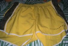 nike dry fit shorts Livestrong Yellow