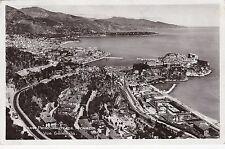 H 447- Monaco, Vue generale de la Principaute, Blick auf den Ort, 1938 Stempel!