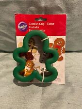 Wilton Gingerbread Man Comfort-Grip Cookie Cutter-Free Shipping-New
