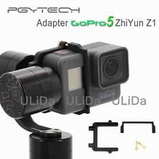 PGY GoPro hero 5 adapter Mount plate clip for Zhiyun Z1 Evolution Rider-m gimbal