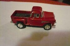 1955 Chevy Pickup Truck red. 1:64 kinsmart