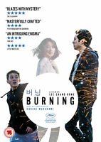 BURNING (DVD) Blazes with mystery & masterfully crafted - BRAND NEW & SEALED +
