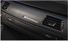 4x BMW ///M Performance Aufkleber decal 150mm weiss Serie 1, Serie 3, Serie 5...