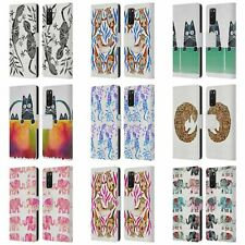 Cat Coquillette Animals 2 Leather Book Wallet Case Cover For Samsung Phones 1