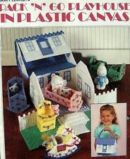 Plastic Canvas Pack 'n' Go Playhouse Patterns Leisure Arts