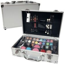 52 PIECE VANITY CASE BEAUTY COSMETIC SET GIFT MAKE UP BOX XMAS TRAVEL 52PCS