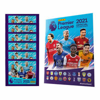 Panini 2020-21 English Premier League Soccer Starter Pack Soft Album 30 Stickers