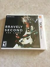 BRAVELY SECOND END LAYER NINTENDO 3DS FACTORY SEALED BRAND NEW GAME RARE RPG