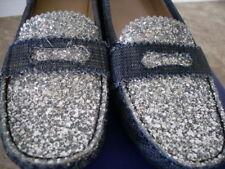 Stuart Weitzman Denim Ballet Flats Shoes Sneakers Loafers Seen on Celebs $495 6