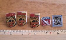 Russian Soviet Space pin lot of 5 from large collection Astronauts rockets 2I