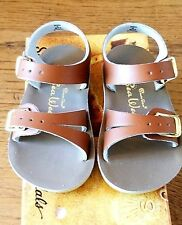 New Sun-San Salt Water Sandals, Sea Wee baby style, tan, infant 4,NWT