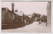 Dorset postcard - Durweston - RP - P/U 1915