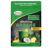 Morlife Alkalising Greens Pineapple Coconut 300g | Alkalize + Free Shaker