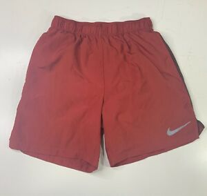 Nike Dri-Fit Youth Kids Athletic Shorts Size S Small Red