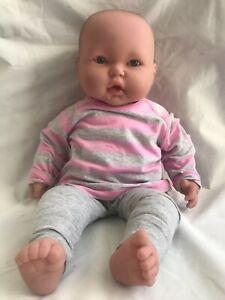 Berenguer Baby Doll Blue Eyes Soft Body 50cm JC Toys