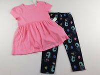 NWT Gap Toddler Girl's 2 Pc Outfit Tunic/Mermaid Leggings 2Yr 4Yr MSRP $30 New