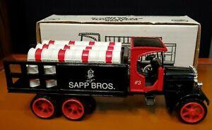 Ertl die cast 1925 Kenworth Sapp Bros stake truck bank