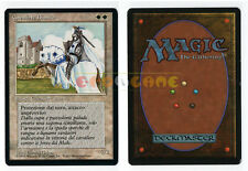 MTG MAGIC - Cavaliere Bianco - White Knight - 1ª Ed. Ita Revised FBB - 1994