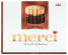 MERCI Finest Gourmet Selection Assorted Dark Chocolate Sticks 250g 8.8oz