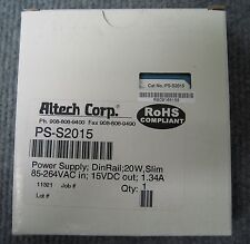 ALTECH NO PS-S2015 MODEL MDR-20-15 POWER SUPPLY