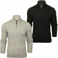 Superdry Mens Zip Neck Jumper 'Jacob Henley'