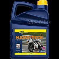 Putoline NANO TECH 4+ 10W-40 vollsynthetisches 4-Takt-Motoröl 4 Liter