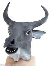 Accessori in gomma grigia per carnevale e teatro, a tema degli Animali e Natura