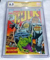 Incredible Hulk #167 CGC SS Signature Autograph STAN LEE M.O.D.O.K. Appearance