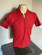 Cannondale mens bicycle riding jersey shirt, size M Medium Red vintage