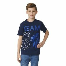 adidas Boys' Short Sleeve Sleeve Crew Neck T-Shirts, Tops & Shirts (2-16 Years)