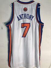 Adidas Swingman NBA Jersey New York Knicks Carmelo Anthony White Throwback sz XL