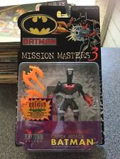 Batman Beyond Quick Attack Batman Mission Masters Hasbro Action Figure 2000 New