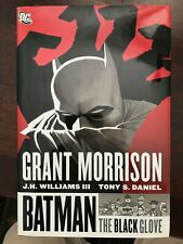BATMAN: THE BLACK GLOVE Grant Morrison 2012 Hardcover VG+